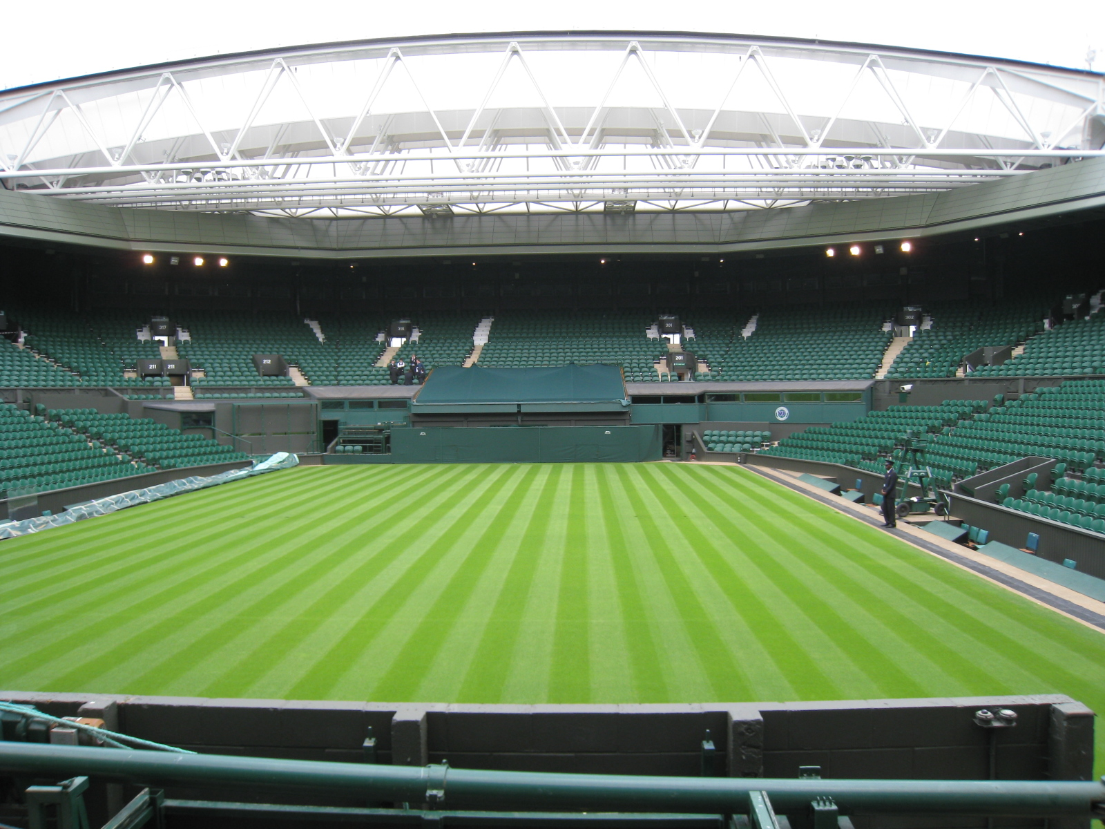 As Wimbledon winds down, a new event begins as different kinds of champions take to the field